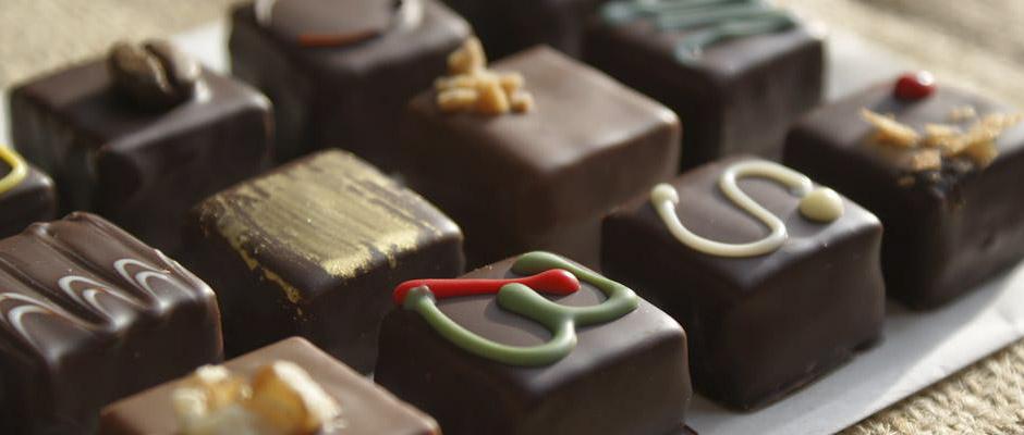 Bon en chocolat avec Mathilde Fays