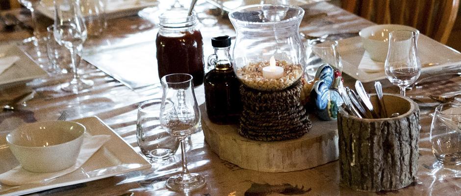 Gastronomie à l'érable signée le Bistro La dent Sucrée