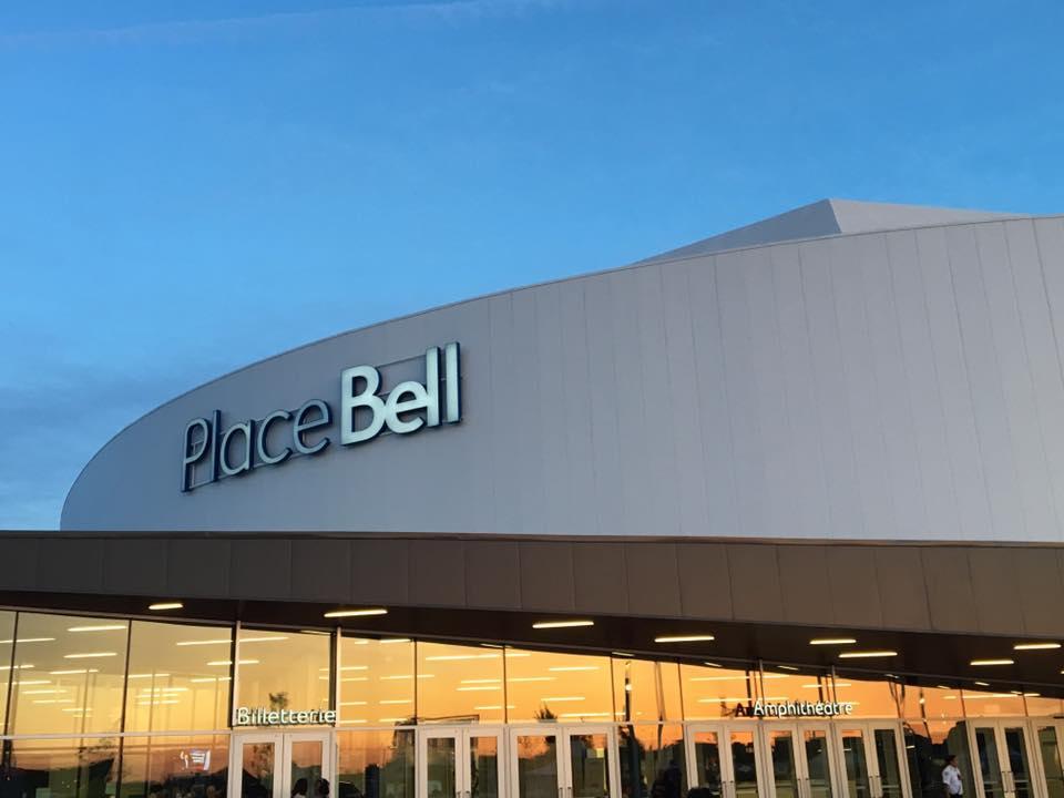 Ma visite de la nouvelle Place Bell de Laval!