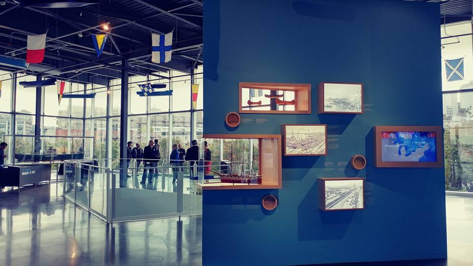 Exposition Histoire de navires au Port de Montréal