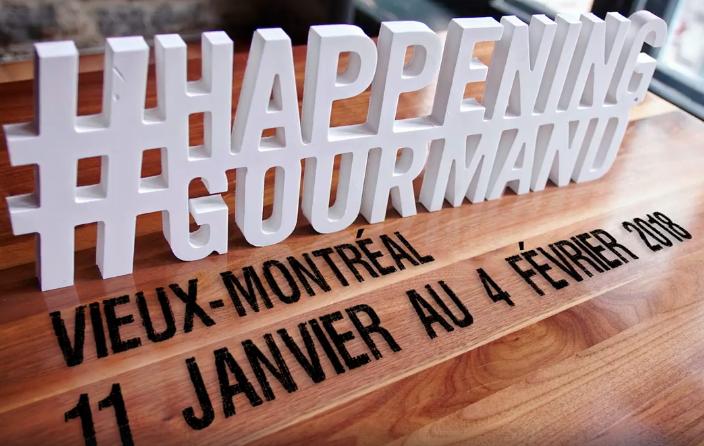 Happening Gourmand dans le Vieux-Montréal