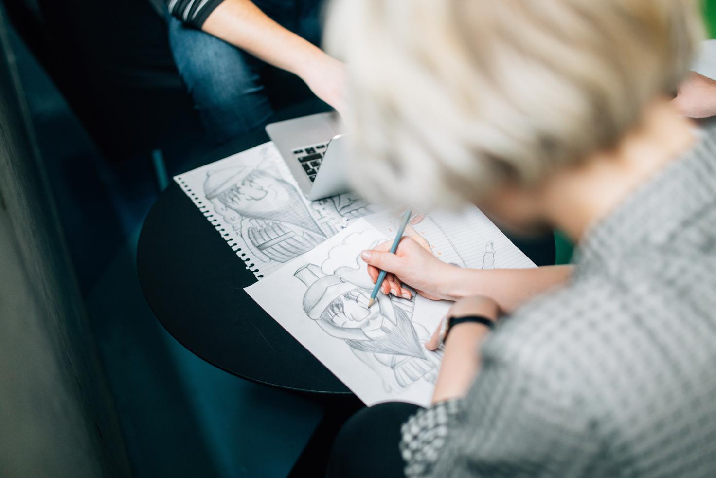 Première édition du Sketch Club à Montréal