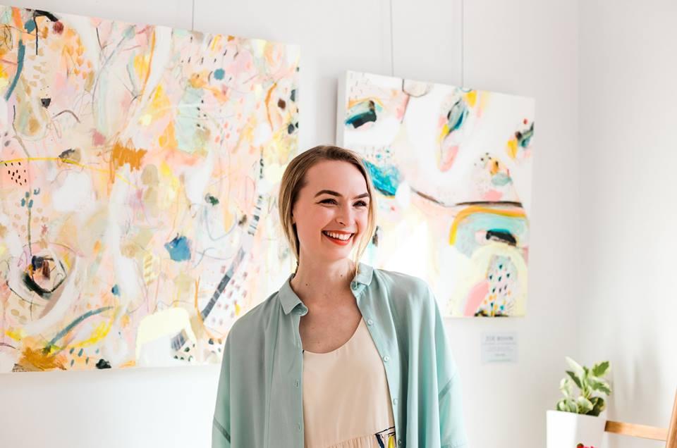 Entrevue avec Zoé Boivin artiste peintre