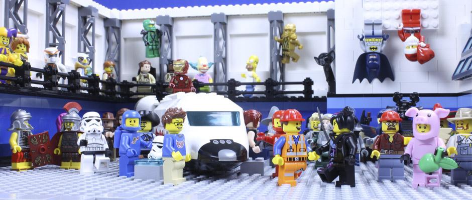 Les Legos débarquent au Cosmodôme