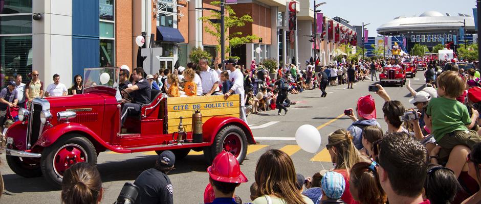 Fête des pompiers à Laval
