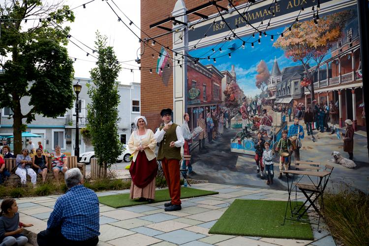 Théâtre et histoire envahissent les rues du Vieux-Saint-Eustache