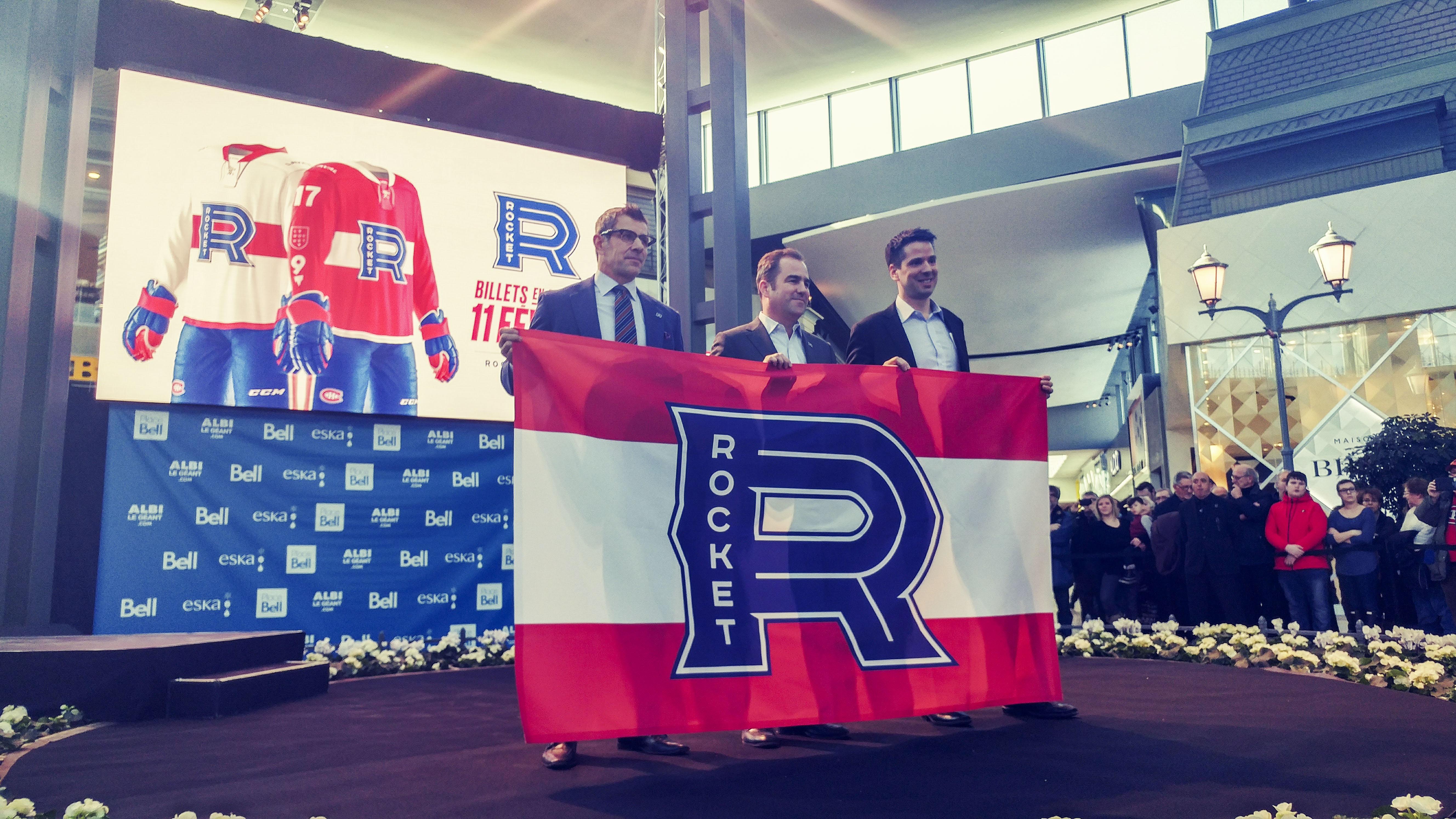Le logo de club Le Rocket de Laval dévoilé