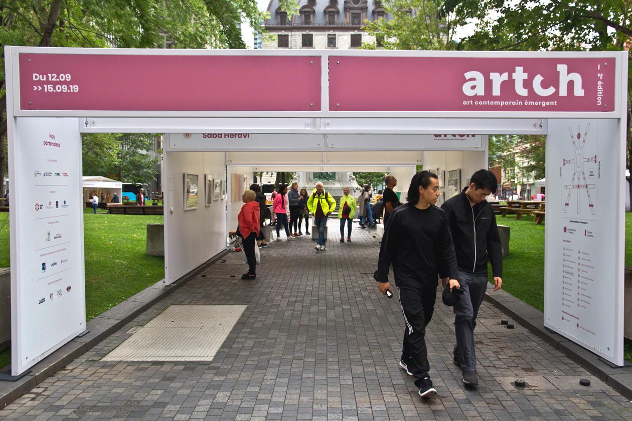 ARTCH de retour au Square Dorchester et sur le web!