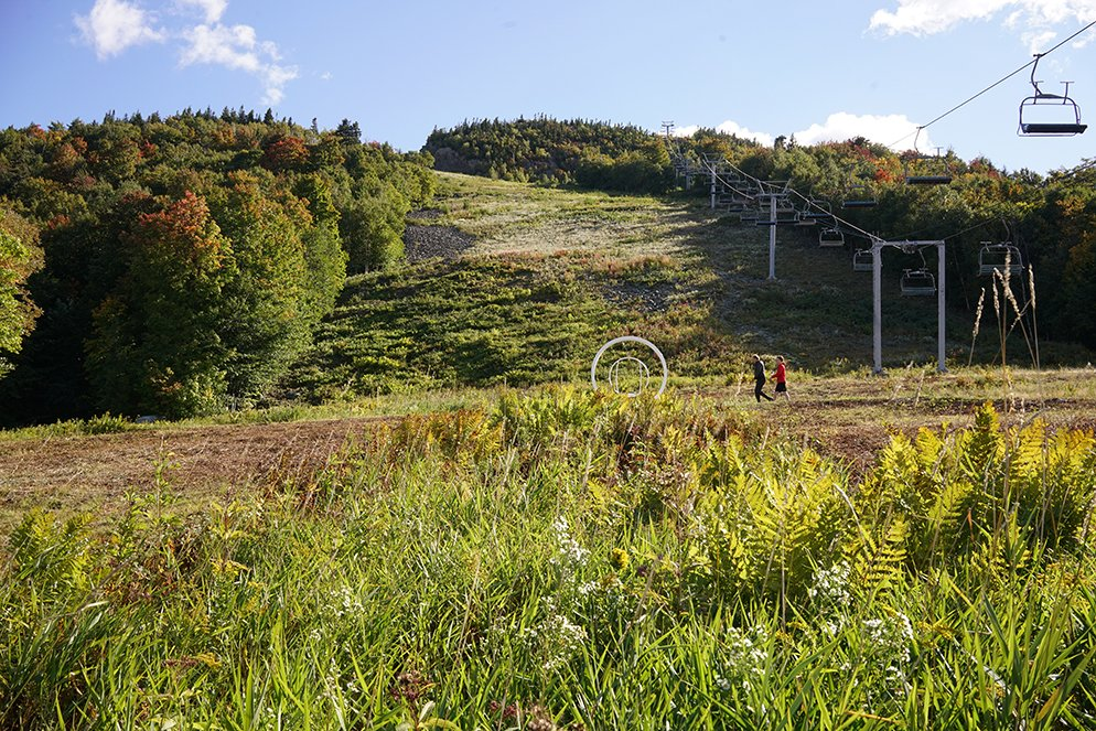 Un projet artistique transformera une piste du Mont-Orford en «land art»